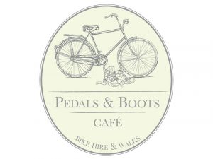 Pedals and Boots Logo