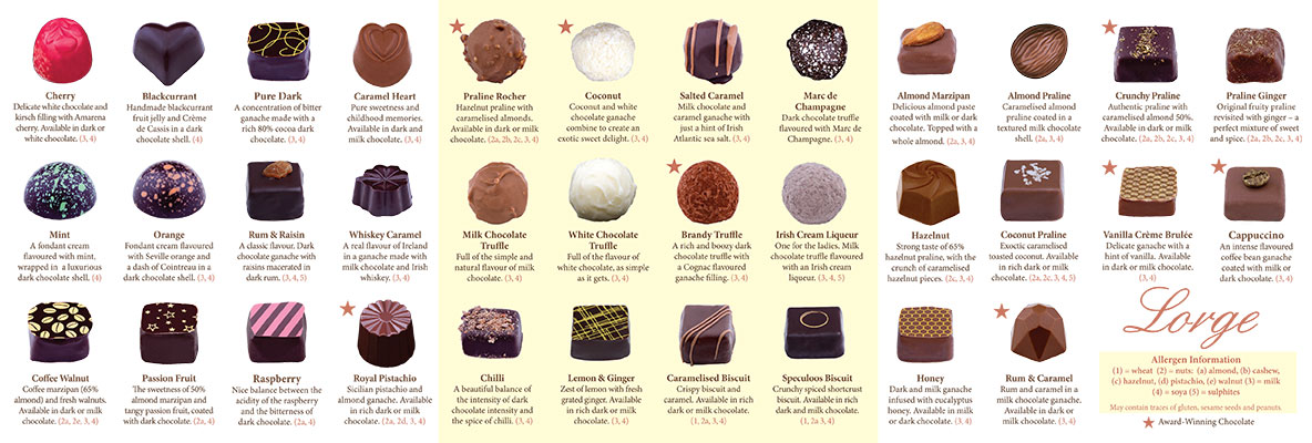 chocolate booklet