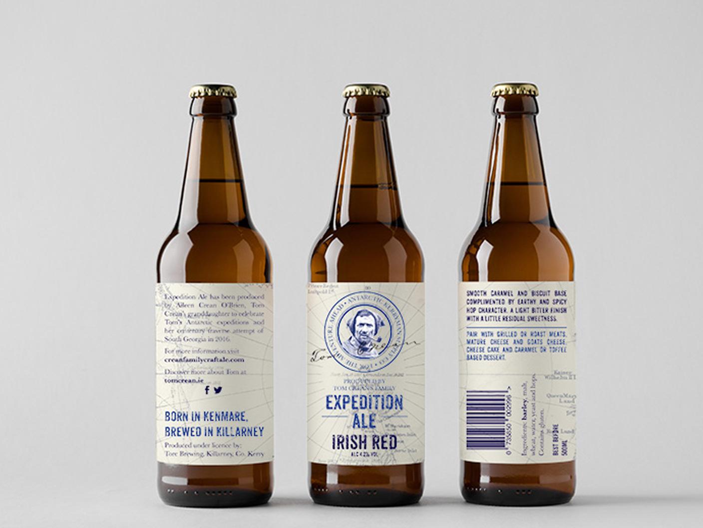 craft beer bottle label