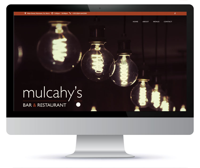 Bar & Restaurant Website