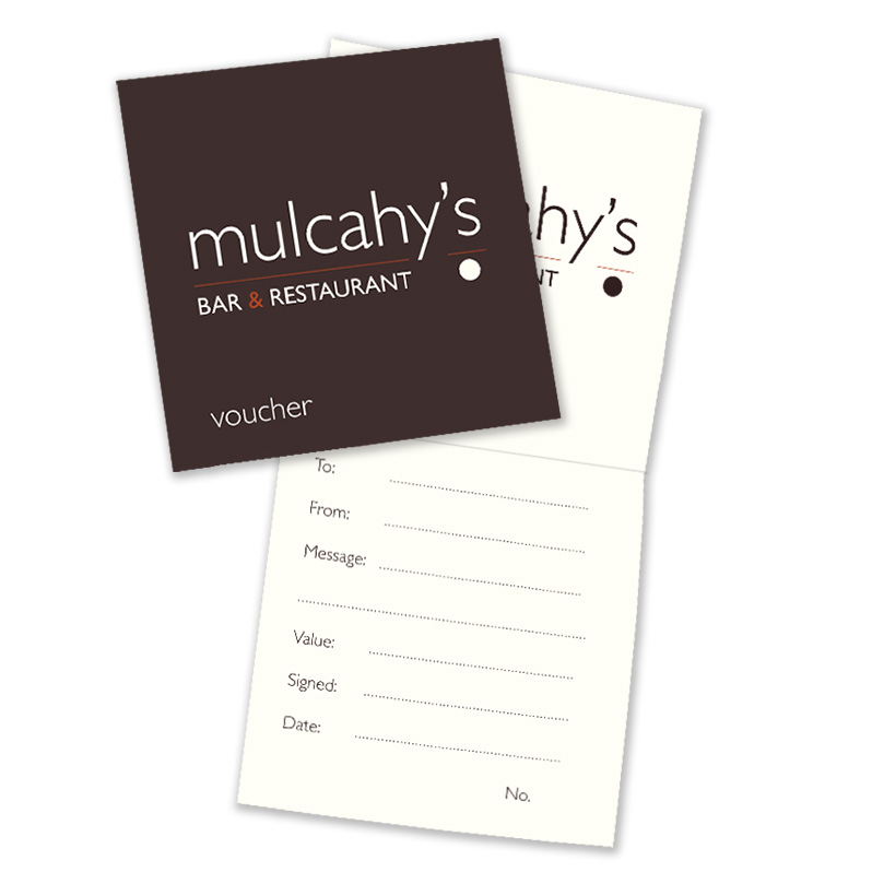 Mulcahy's Bar & Restaurant Vouchers