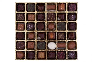 chocolate food product photography