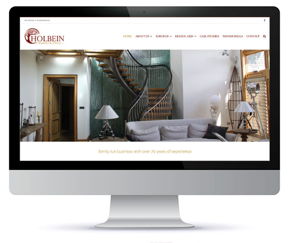holbein carpentry website